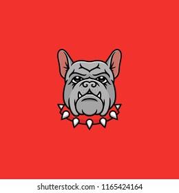 Dog French Bulldog Vector Illustration