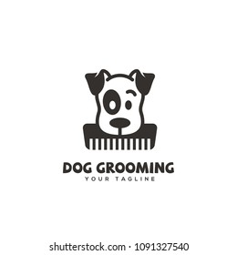 Pet Grooming Logo Images Stock Photos Vectors Shutterstock