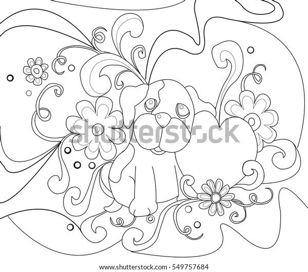 40+ Valentine's Day Coloring Pages PDF Printables | 529x600