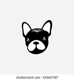 dog icon logo animal