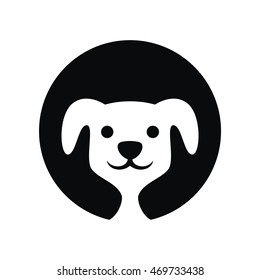 Dog logo icon