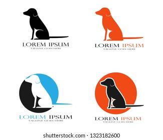 Dog logo template - Vector