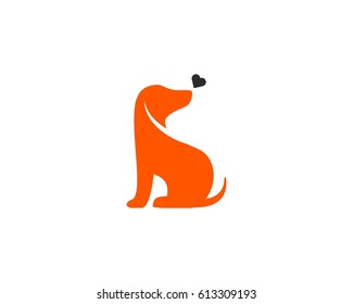 dog logo images stock photos vectors shutterstock rh shutterstock com Dog Paw Logo Dog Paw Logo