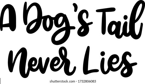 DOG LOVERS QUOTE LETTERING VECTOR