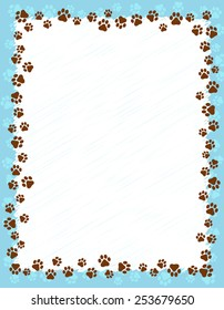 Paw Print Border Images Stock Photos Vectors Shutterstock Cars, trucks, windows, mirrors, toolboxes, walls, doors, and more! https www shutterstock com image vector dog paw prints border frame on 253679650