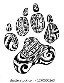 Vectores, imágenes y arte vectorial de stock sobre Dog Paw