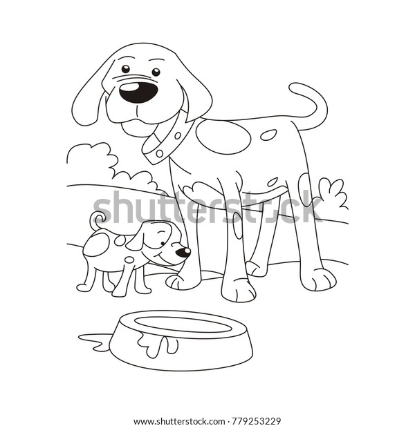 coloring page puppy coloring pages dogs puppy coloring page free ... | 620x600