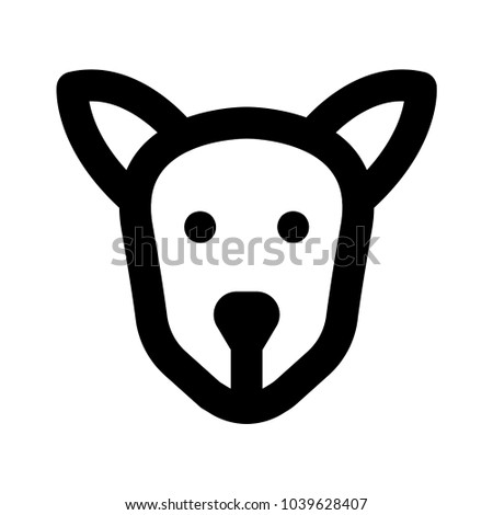 Dog Puppy Emoji Stock Vector Royalty Free 1039628407 Shutterstock