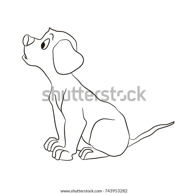 Easy Free Coloring Pages Of S Puppies. Free Printable Dogs Puppies ... | 620x600