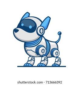 Dog Robot illustration