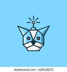 Dog Robot Logo Inspiration