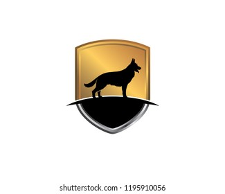 dog security k9 logo