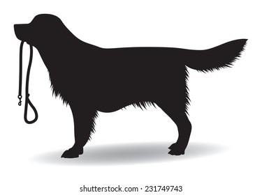 dog silhouette