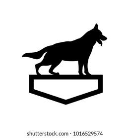 dog vector logo