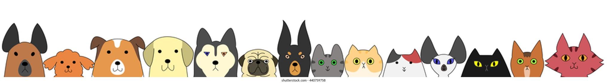 Dog Banner Images Stock Photos Vectors Shutterstock