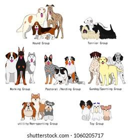 dogs group of breeds