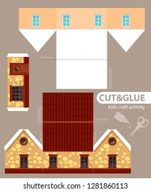 Paper House Images, Stock Photos & Vectors | Shutterstock