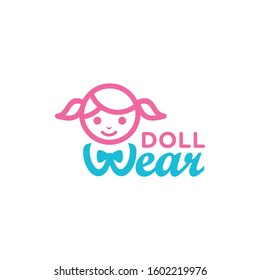 Doll Logo For Doll Clothes Company