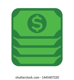 dollar banknote  icon. Logo element illustration.dollar banknote  symbol design. colored collection. dollar banknote  concept. Can be used in web and mobile