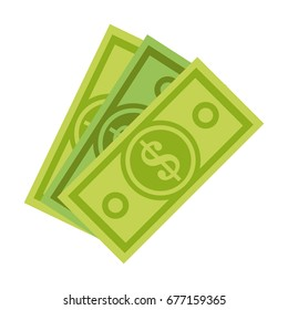 dollar bill money icon image