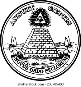 Dollar, Great Seal, Pyramid Eye,