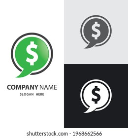 Dollar money logo images illustration design