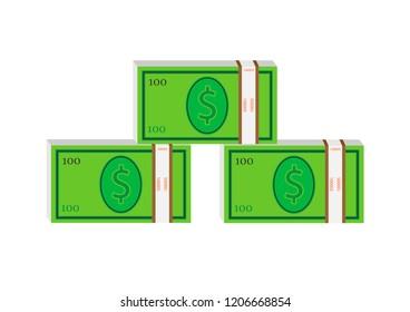 Dollars money background
