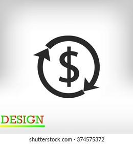 Dollars sign icon
