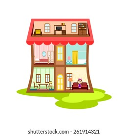 Royalty Free Dollhouse Images Stock Photos Vectors Shutterstock