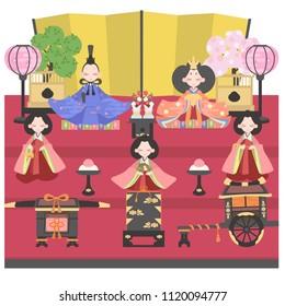 Dolls (five ornament)