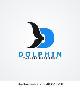 Dolphin Logo available in vector/illustration