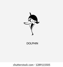 dolphin vector logo