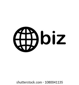 domain for business, globe and biz