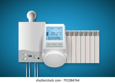 Domestic heating system concept