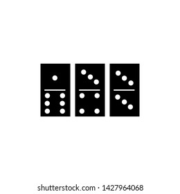 Domini Card Icon Vector Illustration - Vector