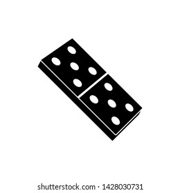 Domino Cart Icon Vektor Illustration - Vector