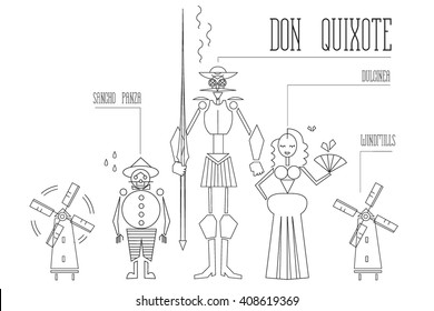 Don Quixote illustrations