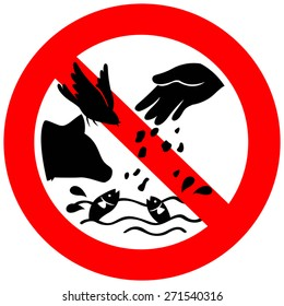 Don't feed the animals sign including bird, fish, and dog, create by vector