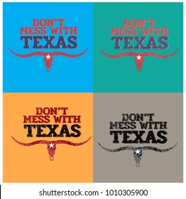 don't mess with texas with star collection.