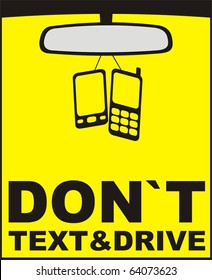 don`t text and drive