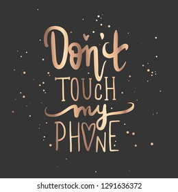 Dont Touch Images Stock Photos Vectors Shutterstock