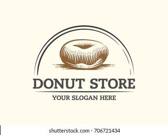donut store logo