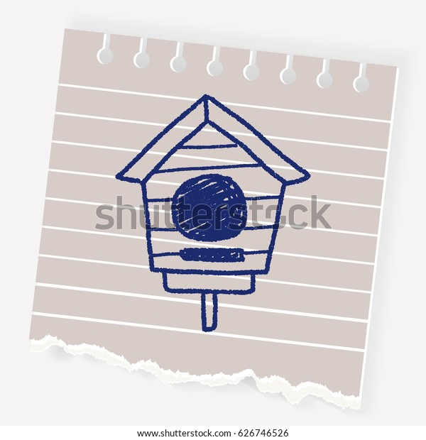 doodle bird house