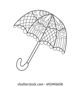 Coloring Page Umbrella - Coloring Home | 280x260