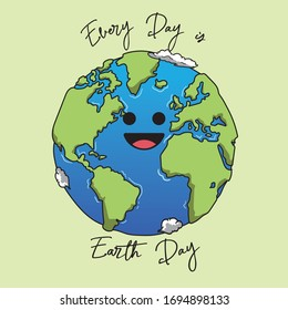 Doodle Earth - Eart day every day