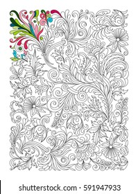 Psychedelic - Coloring Pages for Adults | 280x199