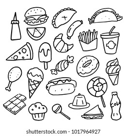 Ice Cream Doodle Images Stock Photos Vectors Shutterstock
