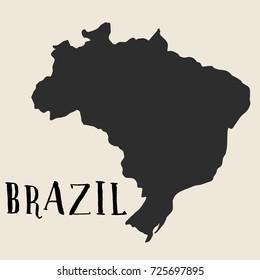 Ilustracoes Stock Imagens E Vetores De Mapa Brasil A Mao Desenho