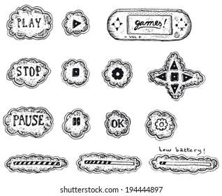 Pause Sketch Stock Vectors, Images & Vector Art | Shutterstock