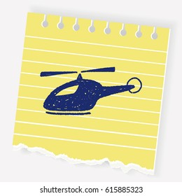 doodle helicopter
